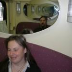 "Helsinki-Moszkva ""Lev Tolsztoj"" vonat kabinja"