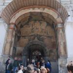 Arhangelszkij-székesegyház bejárata