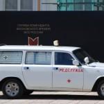 """""""Békebeli"""" mentõautó a Kremlben"""