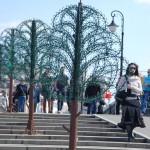 Moszkva, lakatfák nyersen