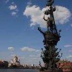 I. (Nagy) Péter hajós szobra