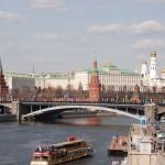 Moszkva, Kreml a Moszkva folyó hídjai felõl